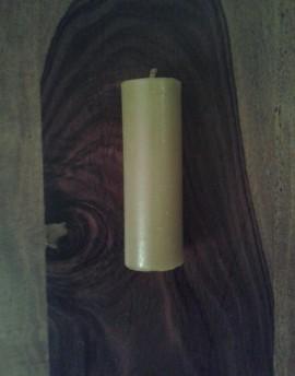EKO-BARĆ Świeca z wosku pszczelego walec wąski niski