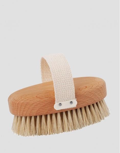 REDECKER Drewniana szczotka do masażu ciała naturalna