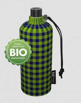 EMIL Ekologiczna butelka w kratkę 600 ml