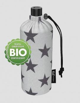 EMIL Ekologiczna butelka w gwiazdy 400 ml szeroka szyjka