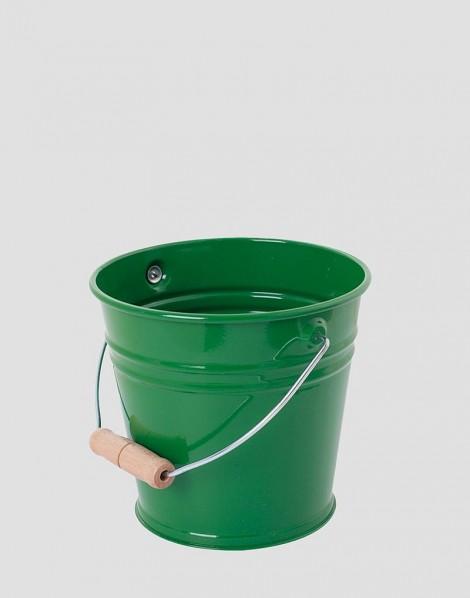 REDECKER Metalowe wiaderko zielone