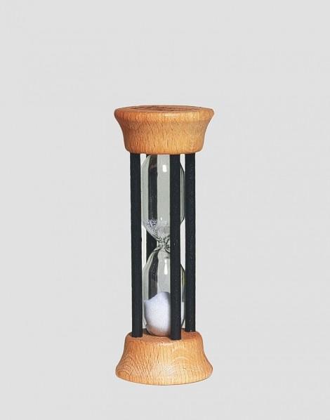 REDECKER Drewniana klepsydra 2-minutowa naturalna