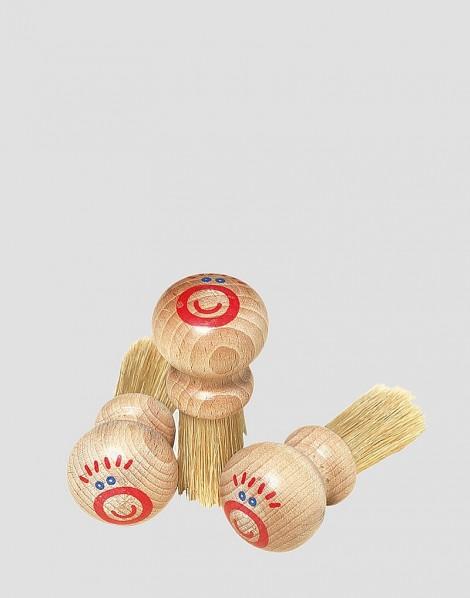 REDECKER Drewniany pędzelek do malowania naturalny