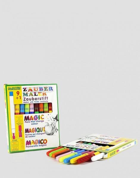 ÖKONORM Flamastry magiczne 9 kolorów