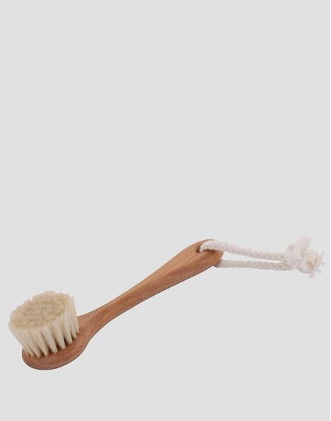 REDECKER Drewniana szczotka do twarzy z rączką z włosia koziego