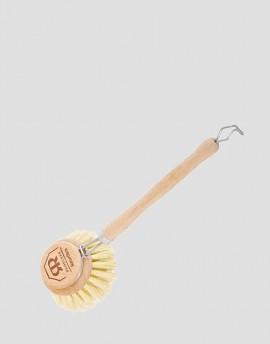 REDECKER Drewniana szczotka do mycia naczyń roślinna duża