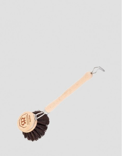 REDECKER Drewniana szczotka do mycia naczyń z włosia końskiego mała