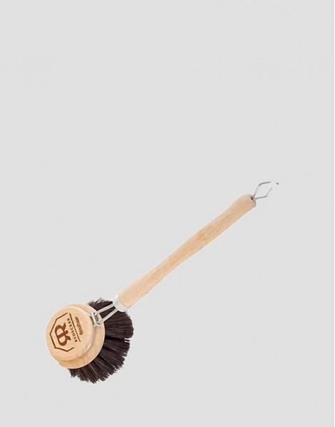 REDECKER Drewniana szczotka do mycia naczyń z włosia końskiego duża