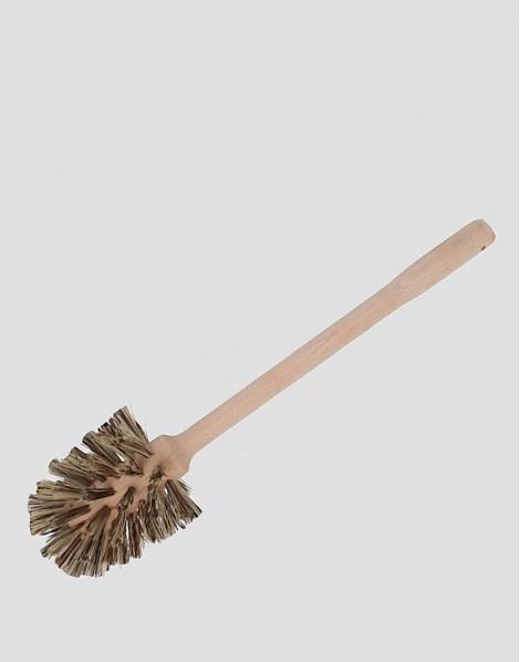 REDECKER Drewniana szczotka do WC roślinna duża