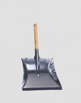 REDECKER Metalowa szufelka do śmieci srebrna