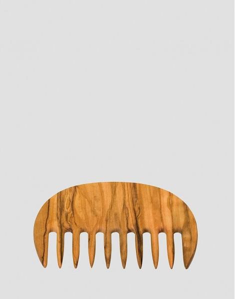 REDECKER Drewniany grzebień do włosów oliwka