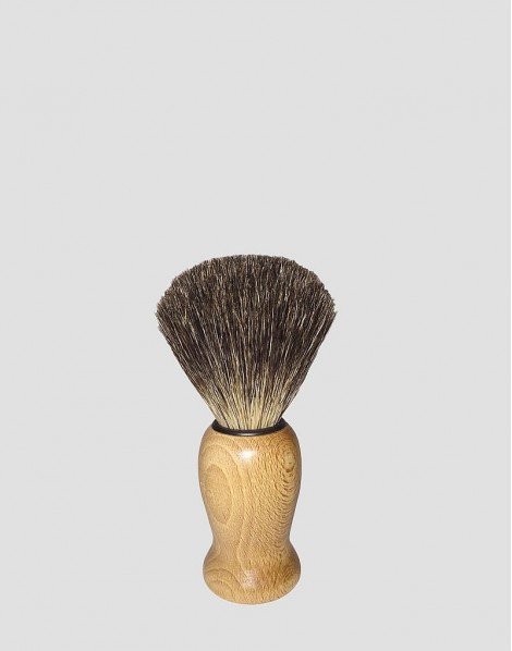 MÜHLE Drewniany pędzel do golenia z borsuka