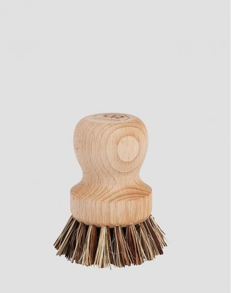 REDECKER Drewniana szczotka do garnków i patelni roślinna