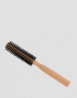 REDECKER Drewniana szczotka do włosów z dzika 10-rzędowa okrągła 3,5 cm