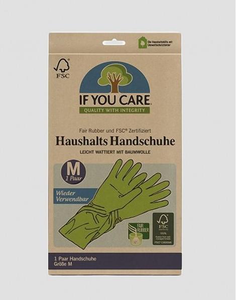 IF YOU CARE Ekologiczne rękawice M 1 para