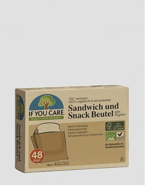 IF YOU CARE Ekologiczne torebki spożywcze 48 szt.