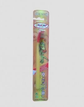 MONTE-BIANCO Szczoteczka do mycia zębów LESS WASTE dla dziecka żółta