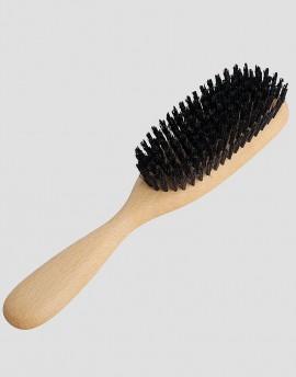 REDECKER Drewniana szczotka do włosów z dzika 8-rzędowa