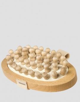 REDECKER Drewniana szczotka do masażu ciała naturalna antycellulitowa